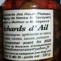 Achards d'ail - 220g