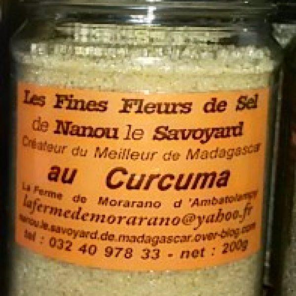 Fine fleur de sel au curcuma - 200g