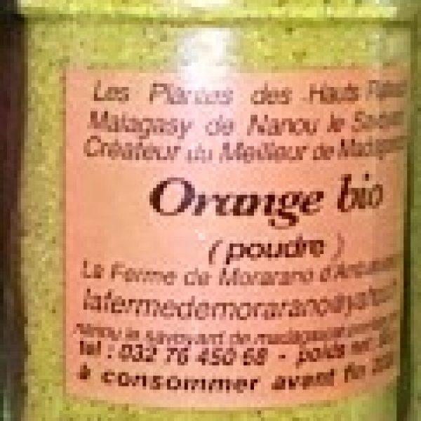 Orange en poudre - 40g
